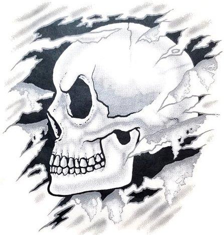 Hood Skull