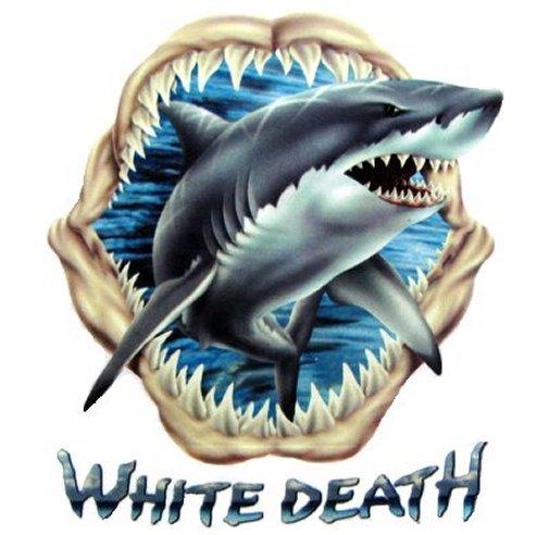 GREAT WHITE SHARK MAN EATER JAWS PREDATOR T-SHIRT WS101 | eBay